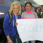 Abby meets her Cusco host mother, Clarisa, following group travels in the Sacred Valley.