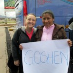 Danielle meets her Cusco host mother, Tania, after a week of travel in the Sacred Valley.