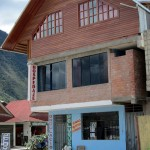 The architectural style in Oxapampa is a mixture of Tyrolean and modern Peru.