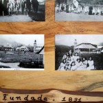 Oxapampa was founded by Austrian-German settlers in the late 19th century. Early photos of the town are on display at a local restaurant.