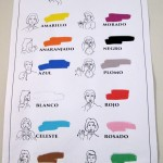 Colors in Peruvian Sign Language.