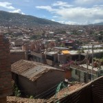 A view of Ayacucho from the family home.