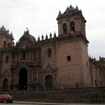 Cusco's main cathedral, Cathedral Basilica of the Assumption of the Virgin, was completed in 1654.