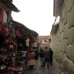Many artisans have small shops along the streets of central Cusco.