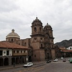 Another view of Cusco's Iglesia de la Compania de Jesus.