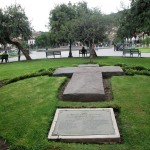 Possible burial site in the Plaza de Armas.