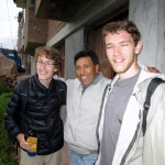 Christian and Micah with their host dad (Pastor Celestino) in Huacarpay.