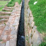 A water channel at Tipón.