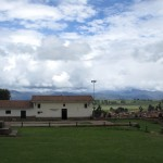 The museum across from the church in Chinchero.