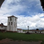 Another view of the Chinchero church.
