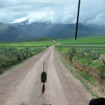 On the road again - this time toward Urubamba and lunch.