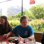 Visiting and eating lunch in Urubamba.