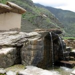 Water fountain in Ollantaytambo.