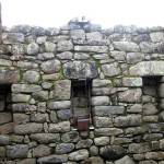 A Japanese system for detecting a drop in land levels at Machu Picchu..