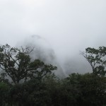 Image of Huayna Picchu just before our climb.