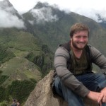 Ammon makes it to the top of Huayna Picchu.