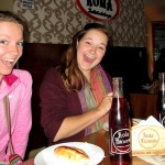 Courtney and Elizabeth introduced us to their favorite salteña cafe and a favorite Arequipa soda.