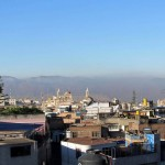 Looking toward downtown Arequipa from the north.