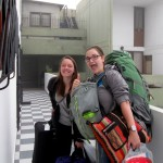 Elizabeth and Courtney arrived at Casa Goshen around 6 a.m., following a long bus ride from Arequipa.