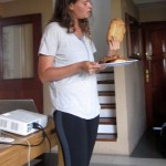 Joanna researched breads in Ayacucho, including her favorites: chapla and wawa.
