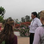 Our guide, Miguel Angel (a former student of Celia's) introduces himself.