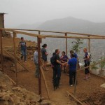 Alicia and her husband, Oswaldo, take us to a home they are building for their son Richard.