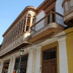 Downtown Lima is known for its balconies, a colonial feature.