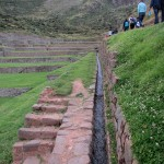 Incas created a network of water channels.