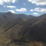 The mountains of Apurimac.