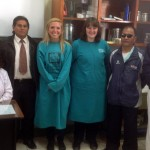 And with Dr. Sheyla and other senior staff members.