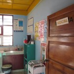 One of the medical offices at the puesto.