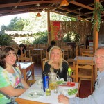 We enjoyed lunch together before moving on to Cusco.