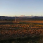 Nearing Cusco as the sun sets on another beautiful day.