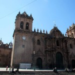 The cathedral in Cusco's Plaza de Armas.