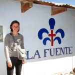 Irene will work at La Fuente for her last three weeks of service.