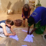 Adrienne & Alysha use gum arabic