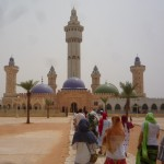 Entering the grounds of the grand mosque
