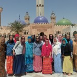 Women before the Great Mosque
