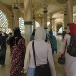 Walking through the Great Mosque