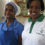 Familiar and friendly faces at the canteen - they welcome us daily!