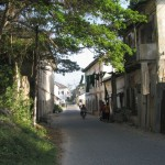 The streets of Bagamoyo