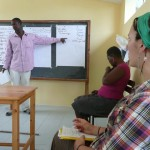 Photo by Anna: Swahili class