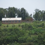 A look at the Mennonite Church from the near the clinic