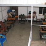 The sewing classroom