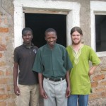 Josh with Pastor Emmanuel and friend Elia