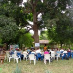 Meeting with RESEWO under the tree