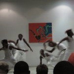 Dance troupe at the musical festival