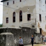 the fort, in Stone Town where slaves were kept