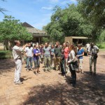 Brad from Singita gives us a tour of the lodge