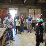 The woodworking shop where some students receive training.